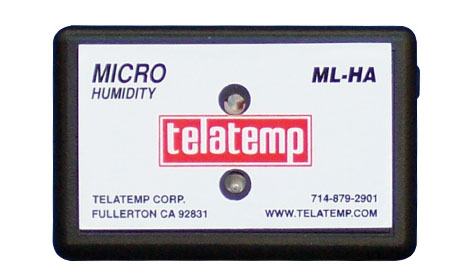 Telatemp Humidity Data Loggers - Micro Humidity Logging Thermometer ML-HA