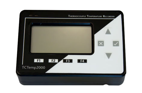Telatemp Temperature Data Loggers - Micro TCTemp2000 LCD Display Thermocouple Datalogger