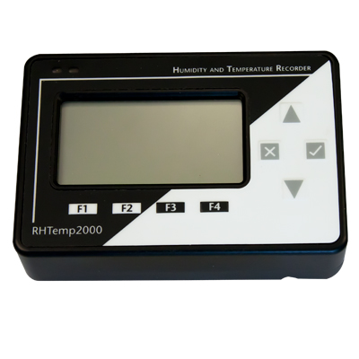 Telatemp Humidity Data Loggers - Micro RHTEMP2000 LCD Display Humidity/Temp Datalogger