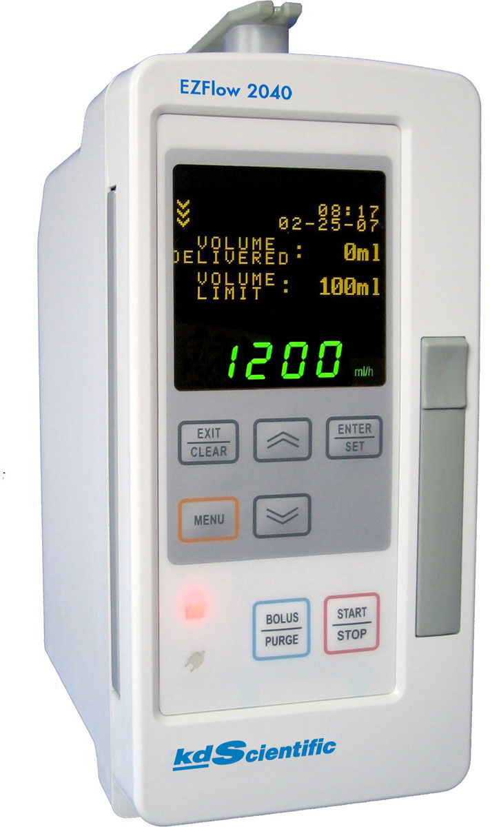 KD Scientific EZFlow 2040  Infusion Pump