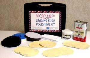 "Micro-Mesh® 5"" Leading edge Aluminum Polishing Kit"