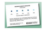 Telatemp Maximum Humidity Indicator Cards