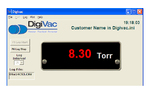 Digivac Bench Top Vacuum Gauge Plot Software
