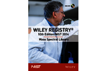 Nov 2014: NIST 14 and Wiley 10 mass spectral libraries