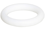 PTFE O-Rings Part #T036 - O-Ring, Material=Ptfe, Nominal Id (in)=2 3/8, Nominal Width (in)=1/16, Actual Id (in)=2.364, Actual Width (in)=0.07 Ptfe O Ring 2.364 X.070 Pkg Of 10 & 100