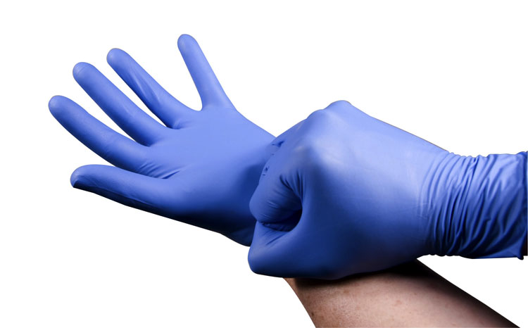 Ansell® TNT® Blue Economy Nitrile Gloves