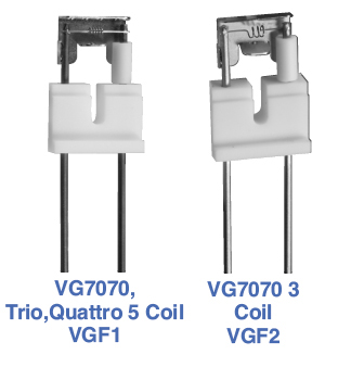 Waters/VG 7070, Trio, Quattro Filament