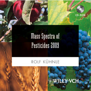 Wiley Mass Spectra of Pesticides 2011/2009
