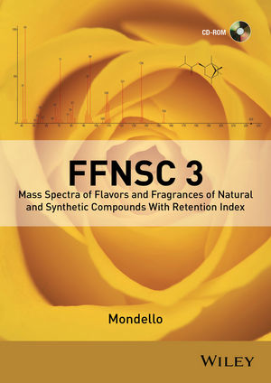 Wiley: Flavors and Fragrances of Natural and Synthetic Compounds (FFNSC) Mass Spectral Library
