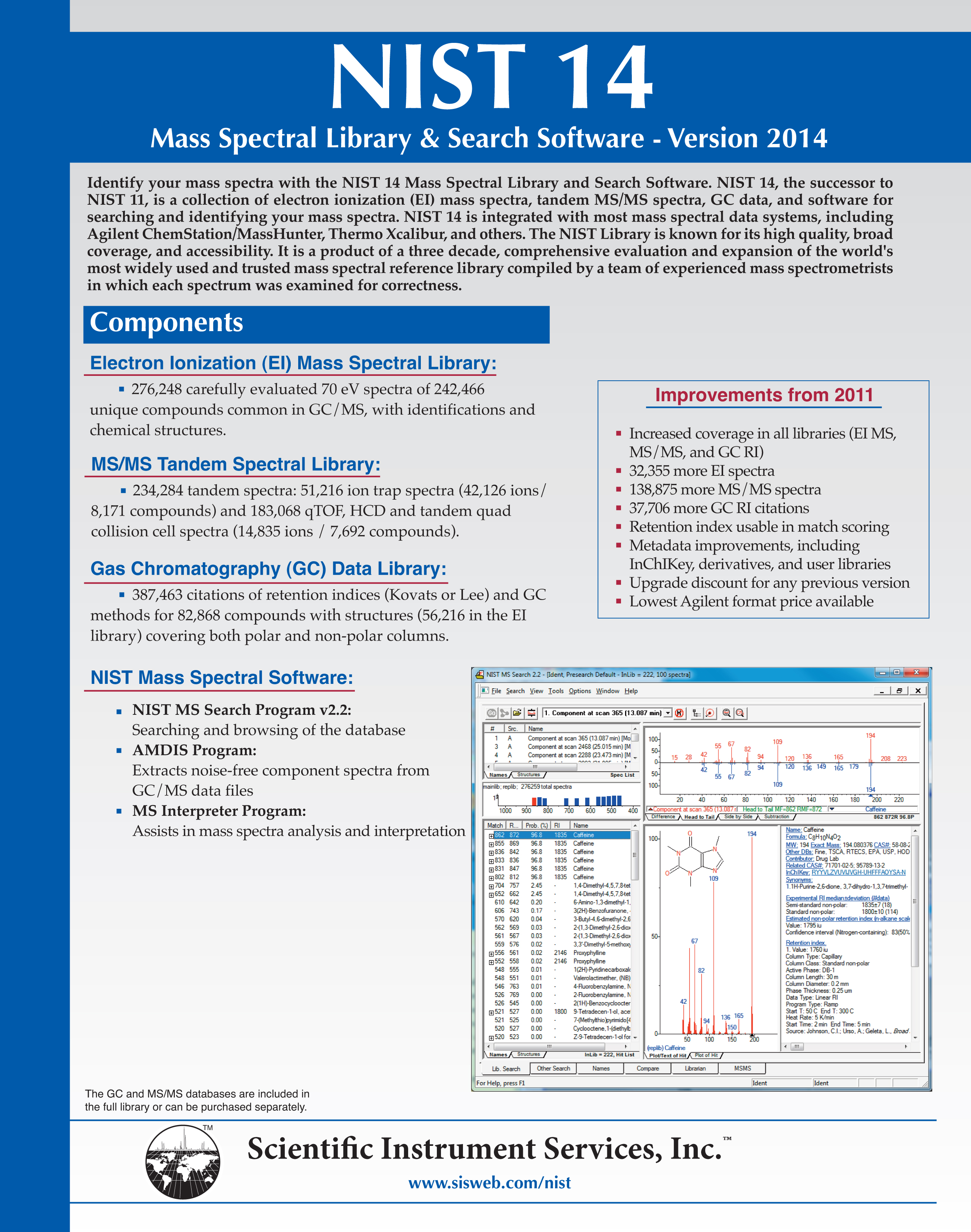NIST 14 Mass Spectral Library, NIST 2014 Database, Agilent ... - photo#33