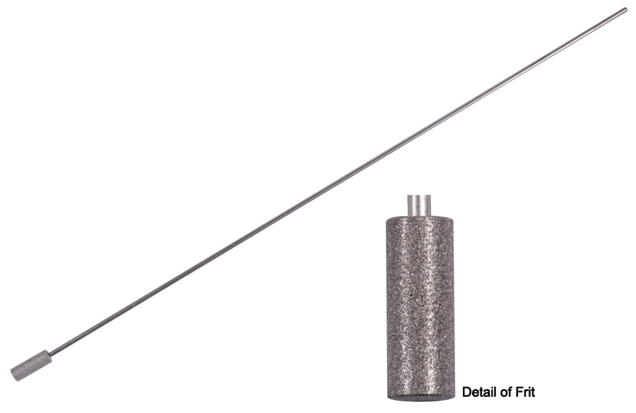 Stainless Steel Metal Frit Spargers for the Purge & Trap System