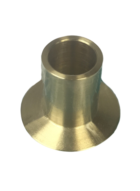 Long Braze Weld Flange - Brass