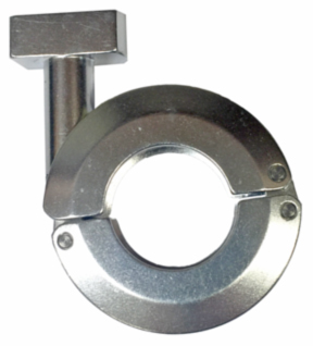 Quick Flange Clamp, Aluminum and Stainless