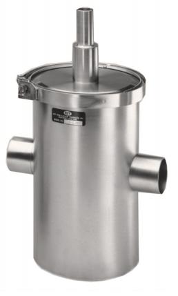 Liquid Nitrogen Refrigerant Traps 6 Quot Inline